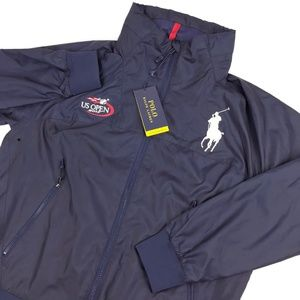 Ralph Lauren 2017 US Open Hooded Jacket BIG PONY